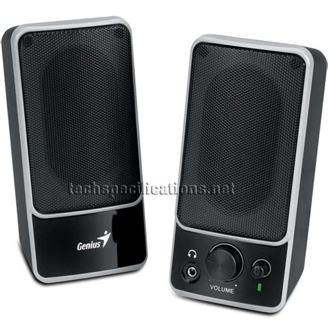 Speaker Komputer Genius Genius Sp M120 Pc Speakers Technical Specifications