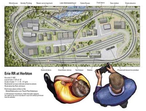 online train layout design erie rr at herbton modelrailroader com
