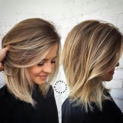 how to balayage on medium length hair medium hair with blonde balayage hifow quick easy
