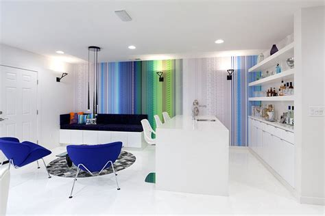 colorful walls modern apartments building with colorful walls stock image guide to colorful 15 fabulous living rooms with striped accent walls