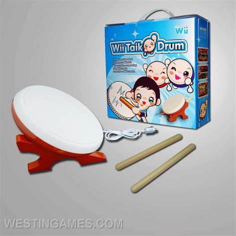 Wii Taiko Drum By Bekasigame wii taiko drum wii accessories westingames