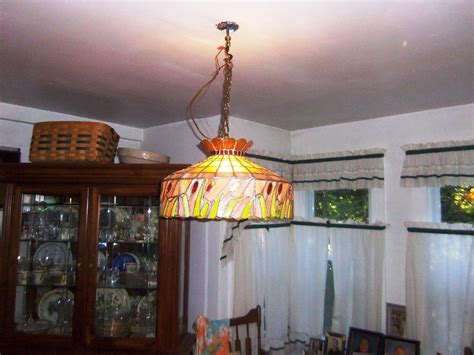 stained glass dining room light fixtures home design