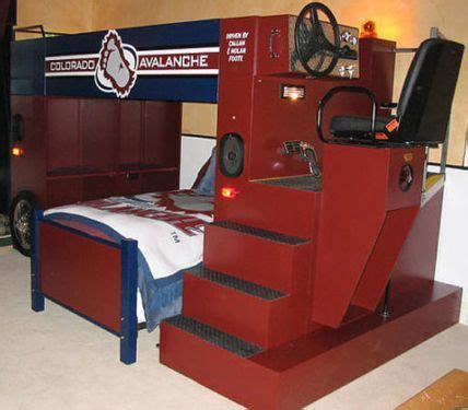 Zamboni Toddler Bed Would You Sleep In This Bunk Bed Nhl