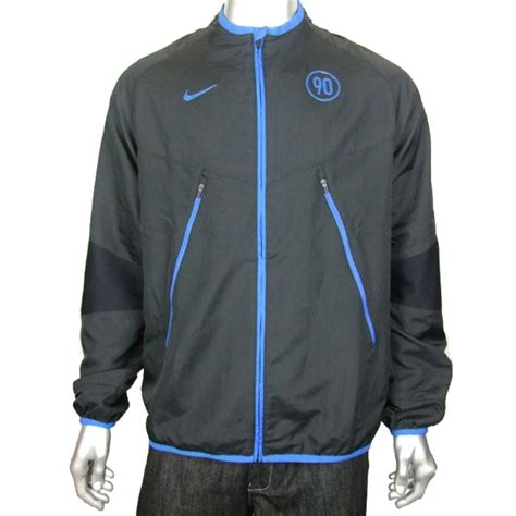 Nike T90 Black mens nike t90 woven football running jacket