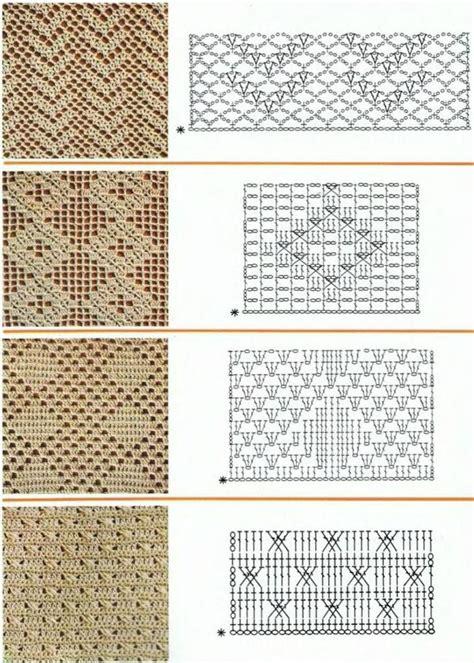 crochet diagrams 519 best crochet patterns diagrams images on