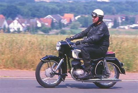 Alte Motorradbekleidung by Dkw Rt200vs 1957 Modellhistorie Ein Bericht Winni