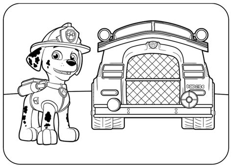 paw patrol happy birthday coloring page get this paw patrol coloring pages online for kids 12648
