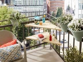 balkon tisch balkontisch in dreiecksform selber machen heimwerkermagazin