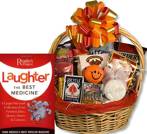 fun get well gift basket fun get well baskets funny