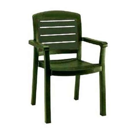 Grosfillex Patio Furniture with Grosfillex Us119078 Green Acadia Classic Dining Armchair