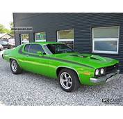 1973 Plymouth Roadrunner 66 400cui Big Block V8 Other Used Vehicle