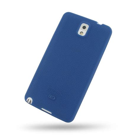 Softcase Samsung Note 3 samsung galaxy note 3 luxury silicone soft blue pdair 10