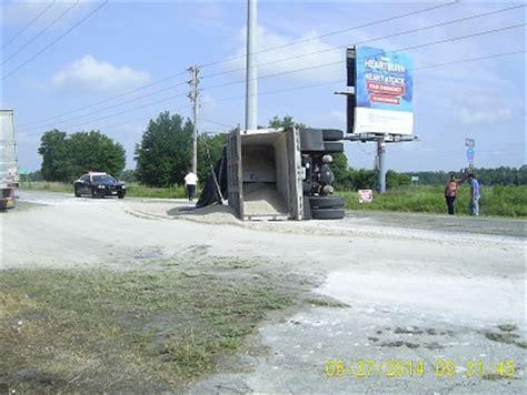 zephyrhills: dump truck overturned on cr 54
