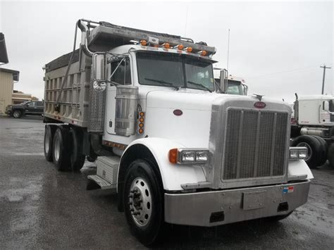 Dump Truck With Sleeper by 2000 Peterbilt 379 Cars For Sale