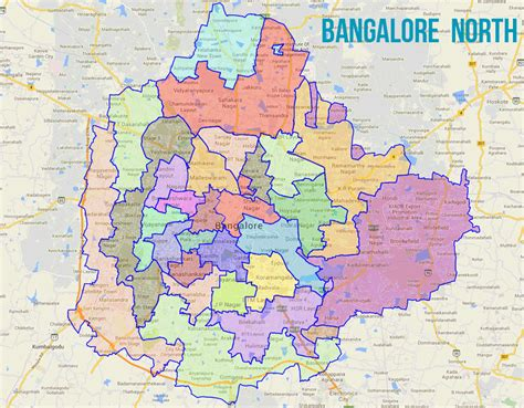 House Plan Layout by Bangalore North Lok Sabha Constituency Wikipedia
