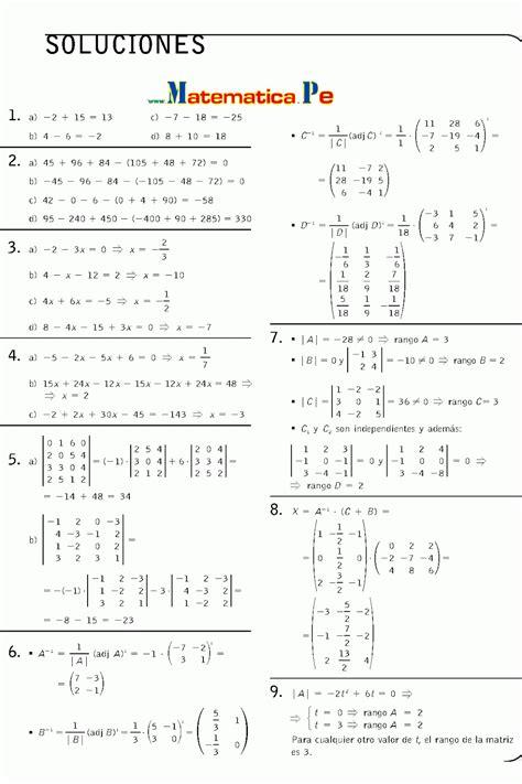 matemticas 2 bachillerato determinantes ejercicios resueltos matematicas 2 bachillerato pdf