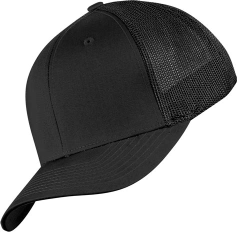 flexfit mesh cap black
