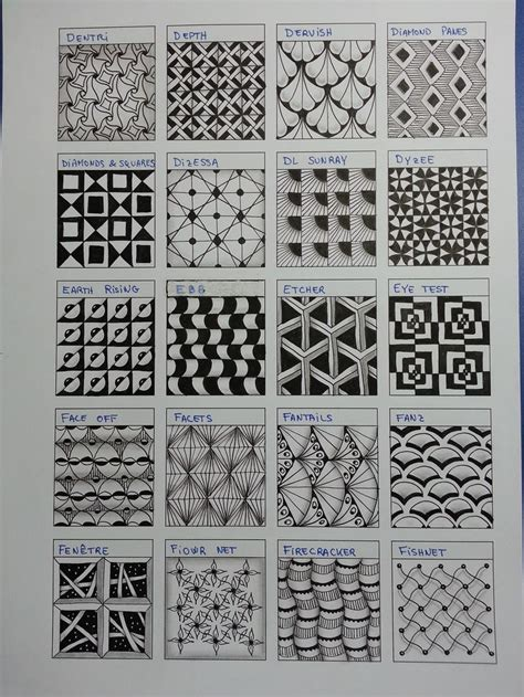 drawing with pattern blocks 17 best images about zentangle designs and patterns on