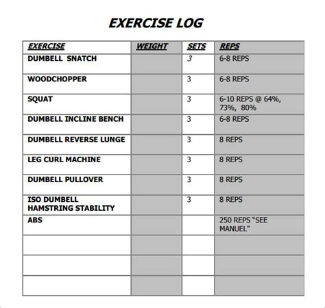 printable workout logs bitch i train like goku search results for workout fill out sheet calendar 2015