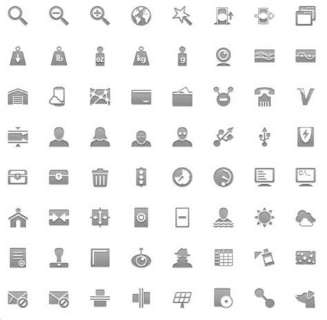 Plantilla de íconos para Android PSD para Photoshop