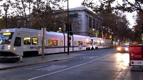 Vta Light Rail S 2nd St W San Fernando St San Jose Santa Clara Lights
