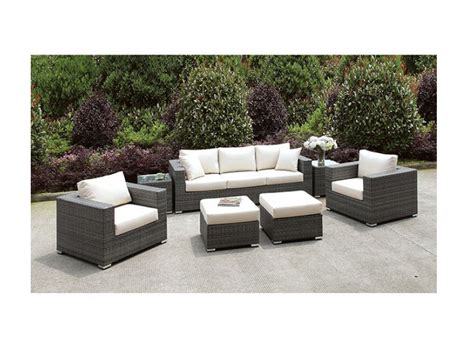 outdoor sofa set renava kokomo modern outdoor sofa set vig