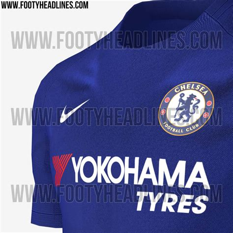 Jersey Bola Chelsea Home Nike New 2017 2018 Grade Ori exclusive nike chelsea 17 18 kit leaked