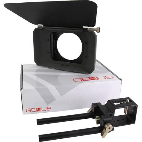 dslr matte box genustech dslr matte box kit gl gmkdslr b h photo
