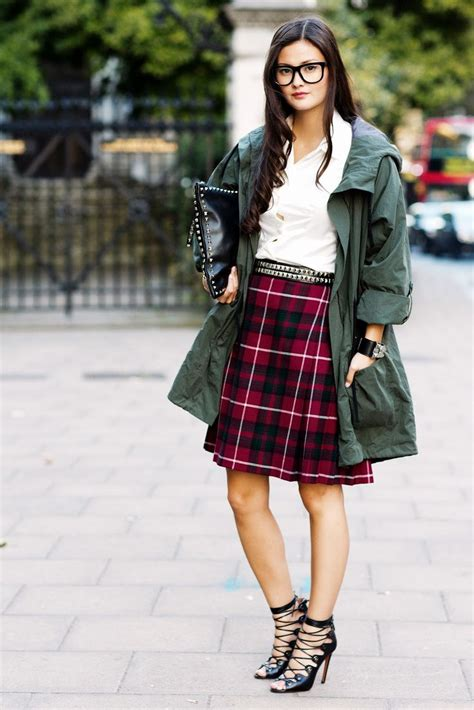 Top Dan Skirt Green Clpp8605 20 best images about plaid shorts styling on plaid finches and plaid skirts