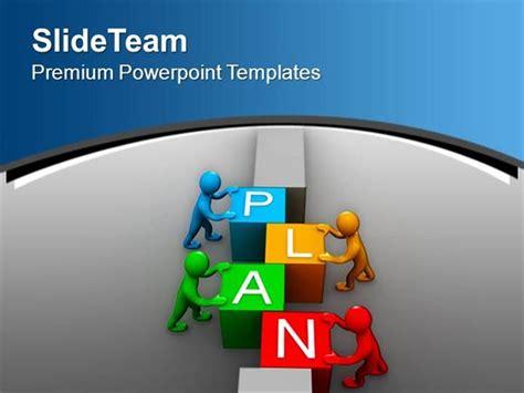 templates powerpoint work plan to work as team business development powerpoint