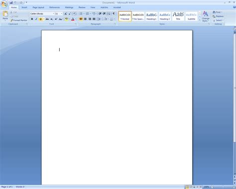 Desktop when microsoft word loads you should be greeted by a screen
