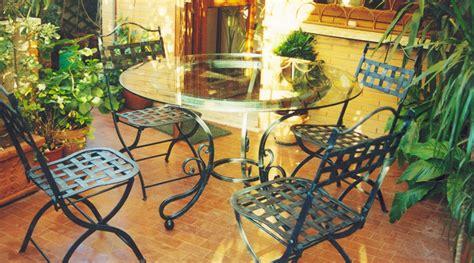 mobili da giardino in ferro battuto mobili da giardino in ferro battuto arduini artigiani