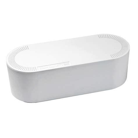 d line small white cable tidy unit bunnings warehouse