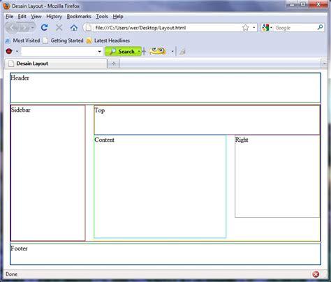 membuat layout html dengan div layout web sederhana dengan memanfaatkan div this is