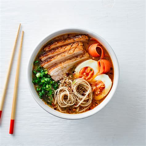 crispy pork belly noodle ramen recipe gousto