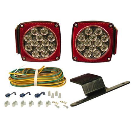 submersible led trailer light kit led clear lens submersible trailer light kit walmart com