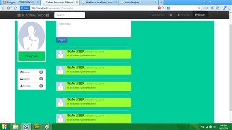 membuat isi halaman web menjadi dinamis dengan php arno tan membuat jejaring sosial sederhana dengan php
