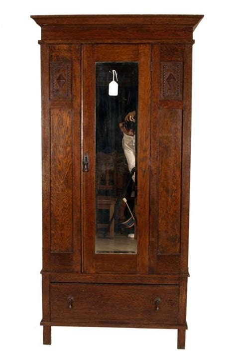 Mission Style Wardrobe by Magnificent Oak Mission Style Armoire