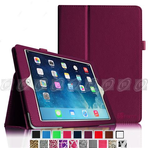 Cover Book Air 1 folio stand smart magnetic leather cover for new