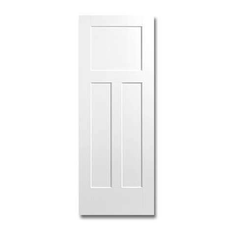 Three Panel Door Interior Interior 3 Panel Doors Reliabilt 910129 3 Panel Solid Wood Interior Slab Door Lowe S Canada 3