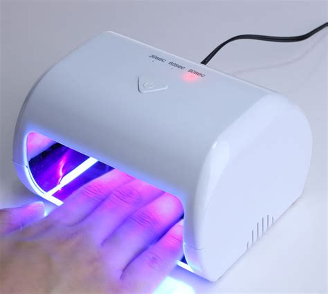 Pengering Kuku Uv Mini Uv Led Nail L Diskon kilimall mini 9w manicure tool 3 high power led uv phototherapy nail gel l pink uk 472411