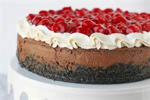black forest cheesecake glorious treats