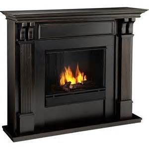 7100 bw worn black gel fireplace just fireplaces