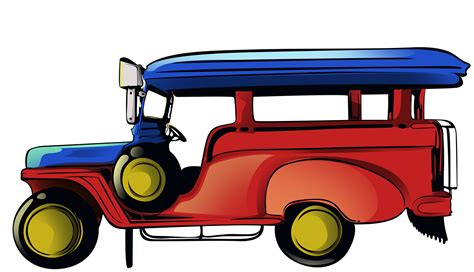 philippines jeepney vector jeepney on behance
