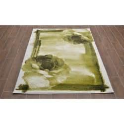tapis salon pas cher vert pastel 7504 41v64 c achat