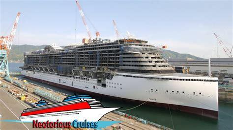 Aidaprima Gästezahl by Largest Cruise Ships Cruise Line S New