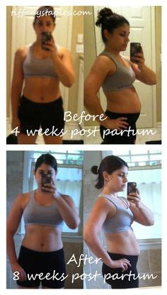 weight loss 9 weeks postpartum clean and fitness during and after pregnancy on