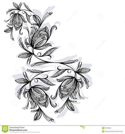 imagenes en blanco y negro de rosas estado de flores rosa blanco y negro ilustraci 243 n del