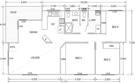 size of 3 bedroom house colles manufactured homes three bedroom mobile home