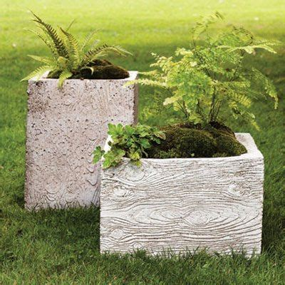 Large Hypertufa Planters by Diy Large Wood Planter Box Woodworking Projects Plans